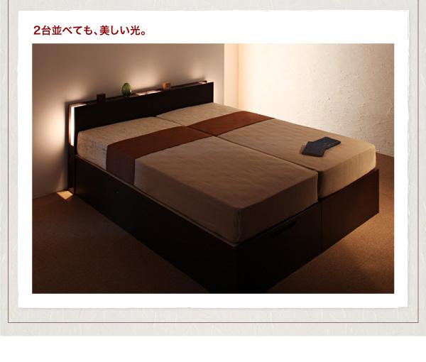ガス圧式跳ね上げ収納ベッド【夕月】ユフヅキ:商品説明17